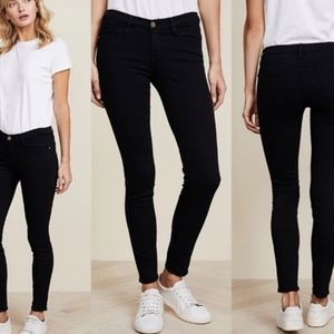FRAME Le Skinny de Jeanne Mid-Rise Jeans 25